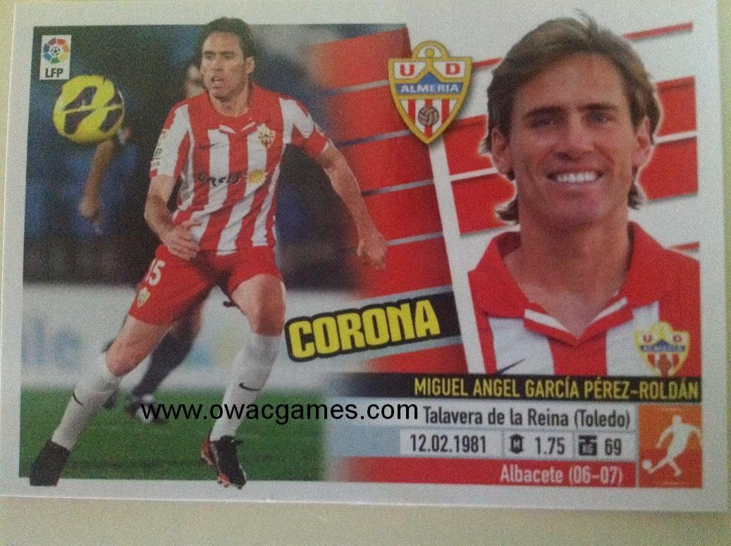 Liga ESTE 2013-14 Almeria 10 - Corona