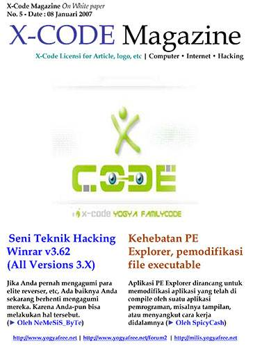Majalah X Code Edisi 5 Download