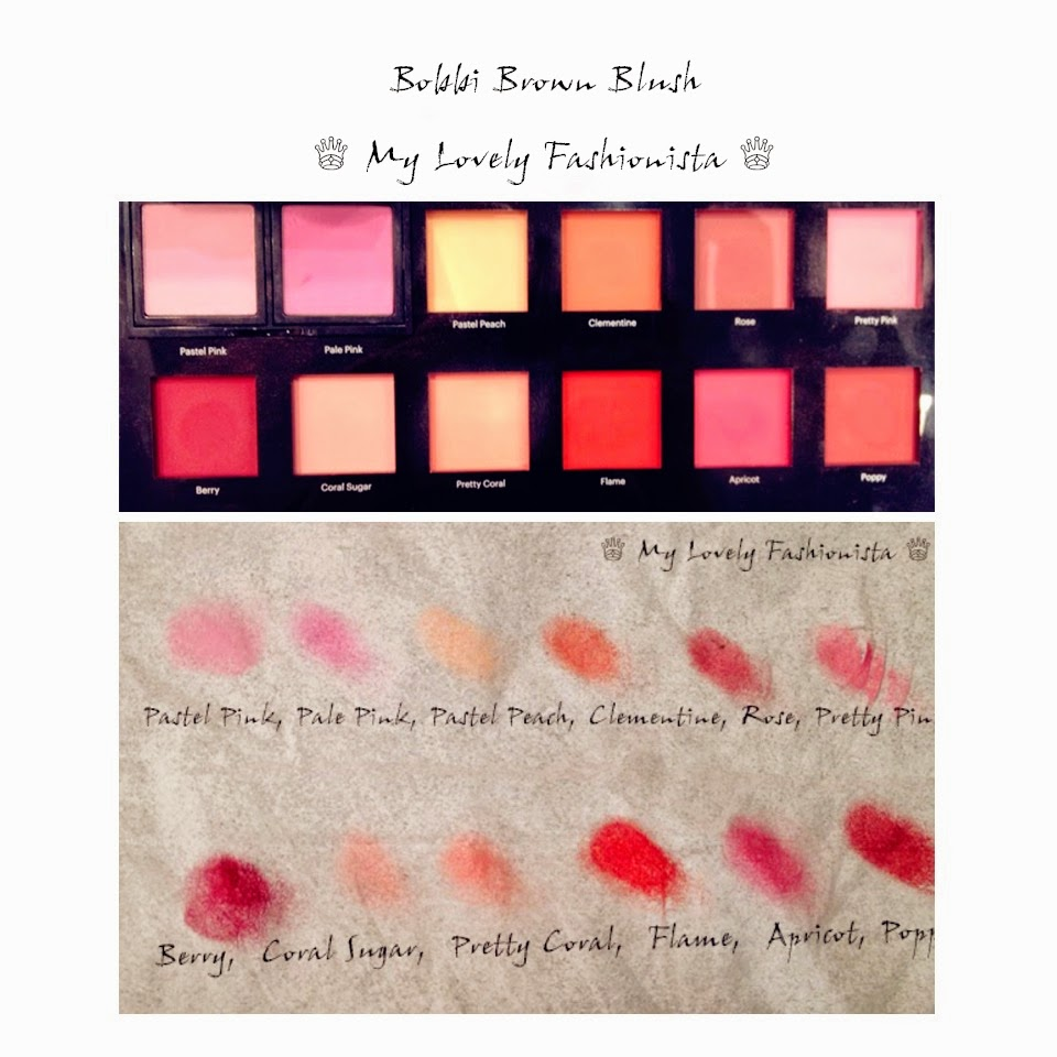 Bobbi Brown Blushes (Pastel Pink, Pale Pink, Pastel Peach ...