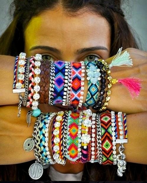 Las pulseras Kim Zozi para el verano lulaluleras style advisor