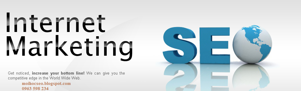 mới học seo website, tập seo web