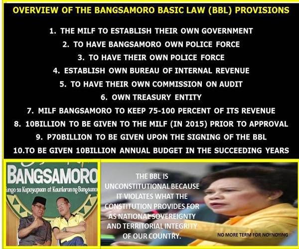 Bangsamoro basic law essay