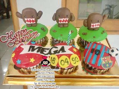 Cupcake Domo dan Barcelona Daerah Surabaya - Sidoarjo