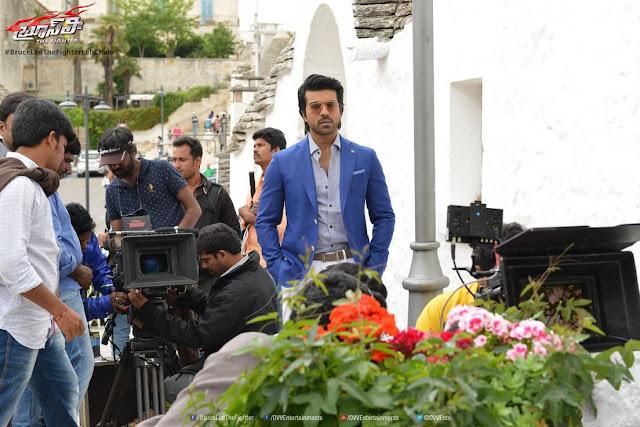 BruceLee Telugu Movie Working Stills | Ram Charan | Rakul Preet