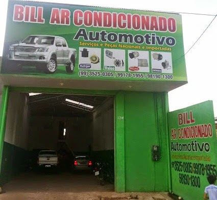 BILL AR CONDICIONADO AUTOMOTIVO