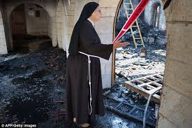 Churches Burnt Down In Israel