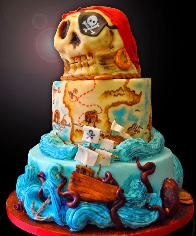 Торт в пиратском стиле своими руками фото 540