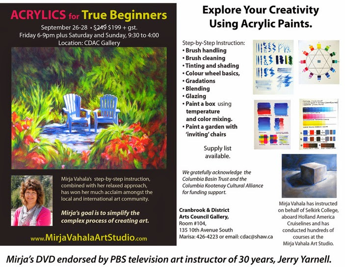 Acrylics for Beginners
