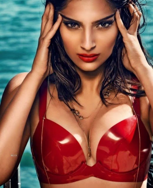 Hot-Sonam-Kapoor-GQ-Magazine-Cleavage