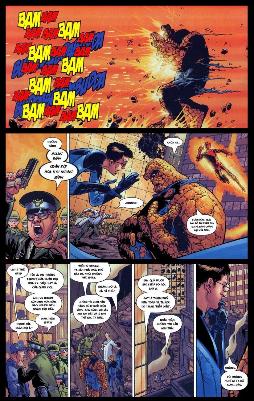 Ultimate Fantastic Four chap 5 - Trang 14