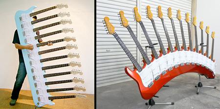 Unique Guitars from Japan