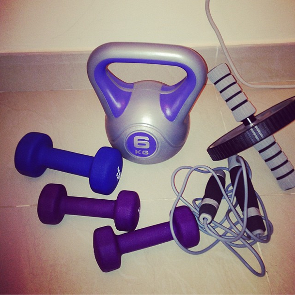 Some Of My Exercise Equipment