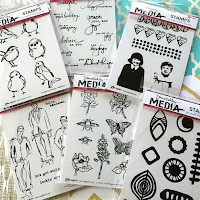 Dina Wakley Rubber Stamps