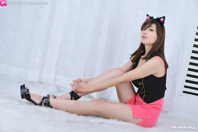 1 Jung Se On - Pink Kitty-very cute asian girl-girlcute4u.blogspot.com