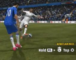 FIFA 13 New Skills Tutorial - New Flair Pass - MHjerpseth