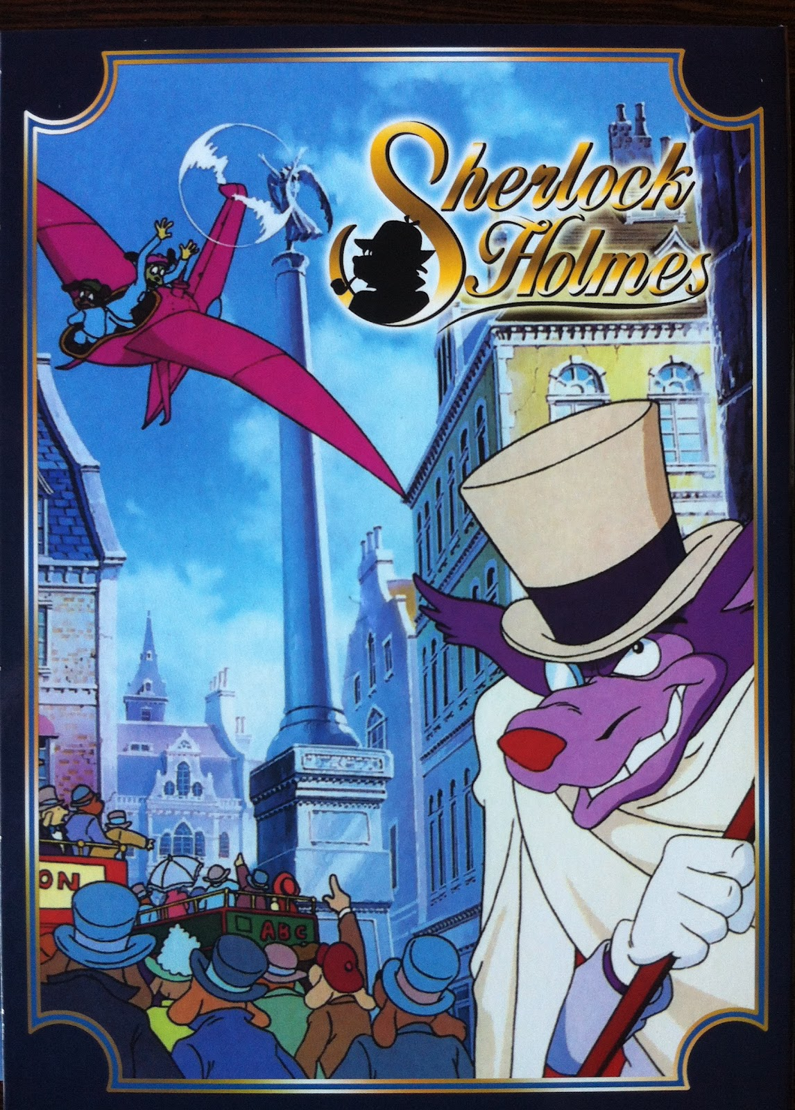 Magic doudou club dvd collection sherlock holmes - Magic le dessin anime ...