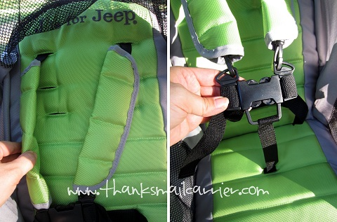 stroller 5-point harness