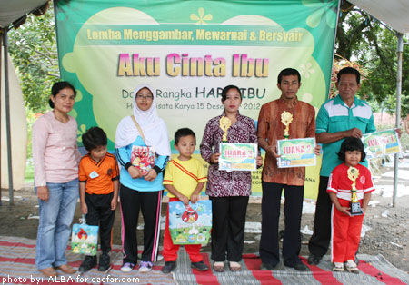 Pemenang Lomba Menggambar
