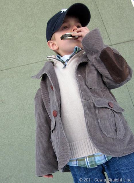 harmonica jacket tutorial