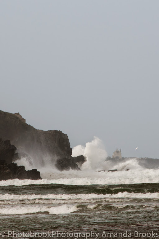 Photos of storm hitting Cornwall