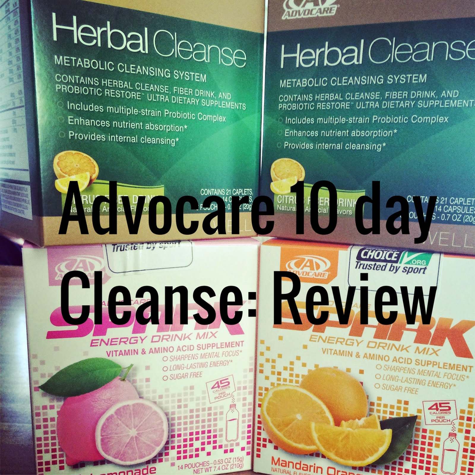 Just The Three Of Us Advocare 10 Day Cleanse Review