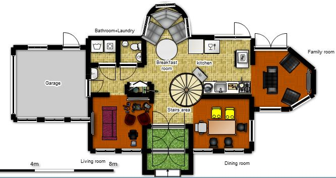 Planos de casas modelos y dise os de casas planos de for Modelos de casas de campo de una planta