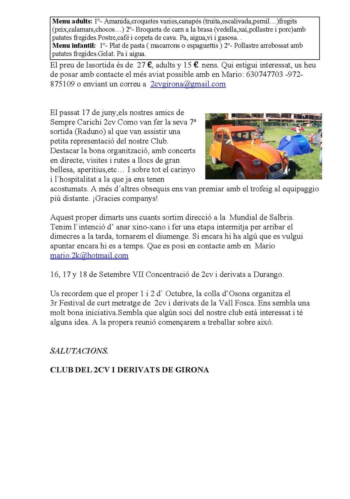 Salida 20 de Agosto CLUB 2CV I DERIVATS DE GIRONA BOLETIN+INFO.JUL+2011-Catal%25C3%25A0_P%25C3%25A1gina_2