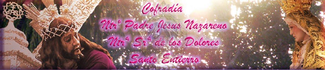 Cofradía de Jesus Nazareno de Rute, Santo Entierro y María Santísima de los Dolores