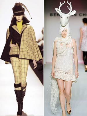 20 Weirdest Fashion Trends: Hunters (and the Hunted)