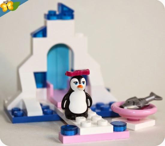 LEGO® Friends Animaux - Série 4 - Le pingouin et son aire de jeux de glace