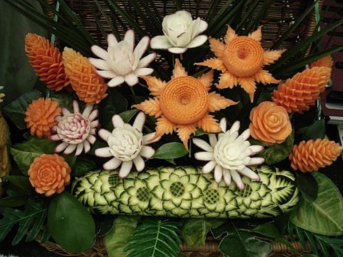 vegetablecarving282529 - Vegetable and Fruit Carvings