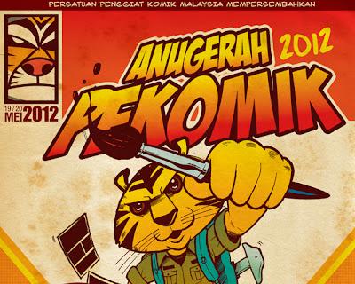 Anugerah PeKOMIK 2012, MGCC2012
