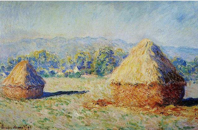 Claude Monet 1840-1926 I Covoni