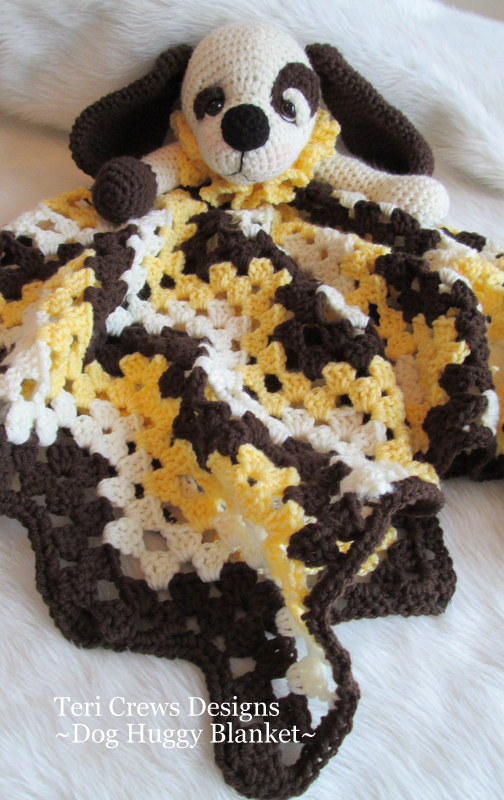 Teris Blog: Dog Huggy Blanket Pattern