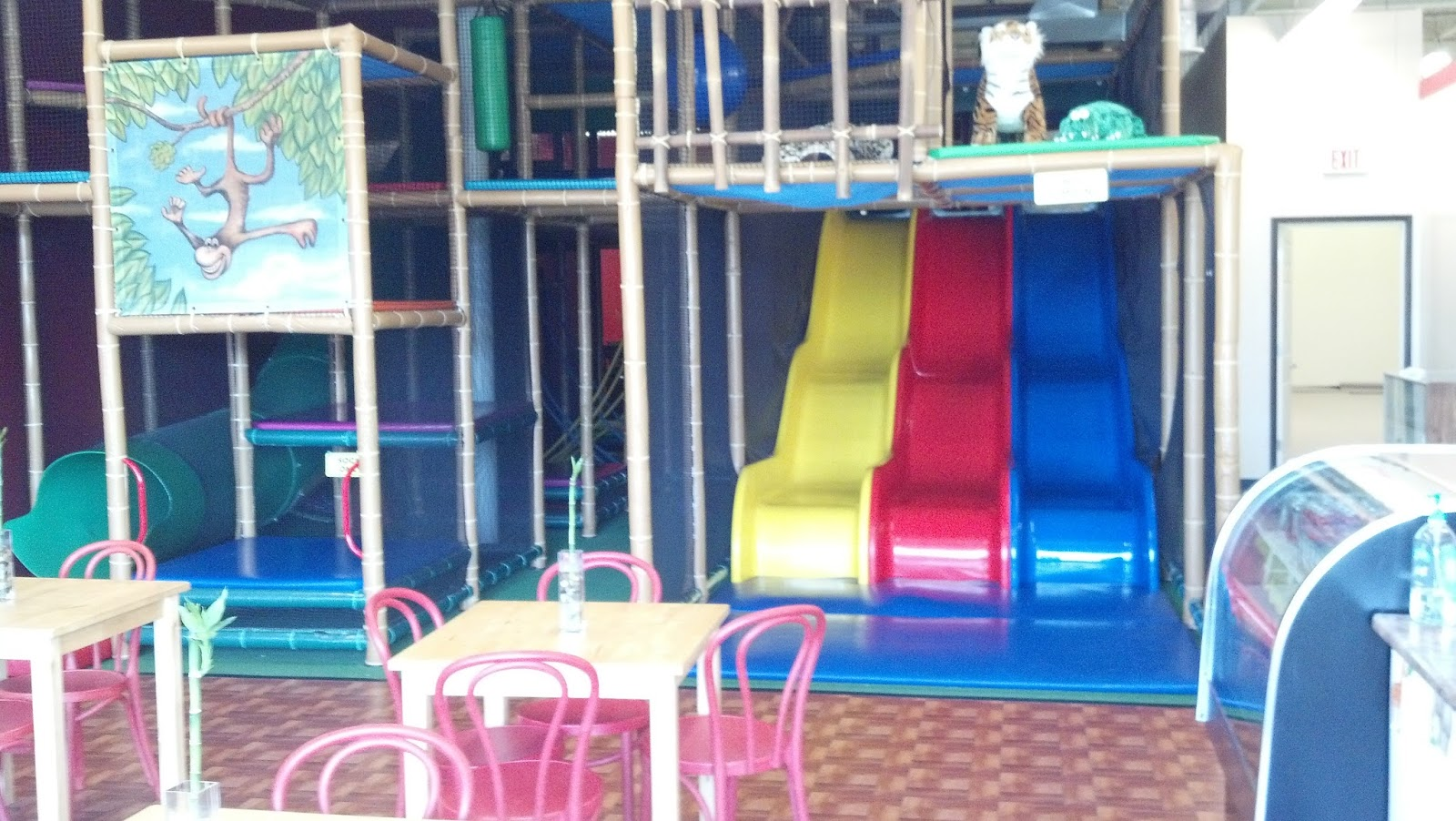 The jungle gym a new indoor play place in ypsilanti for Toddler play places