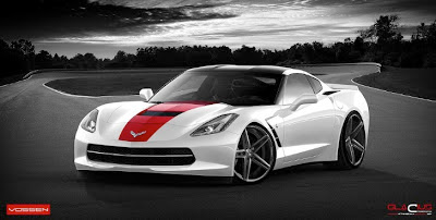 2014 Corvette Stingray on Vossen Wheels