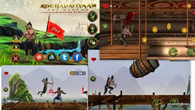 kochadaiyaan kingdom run game free
