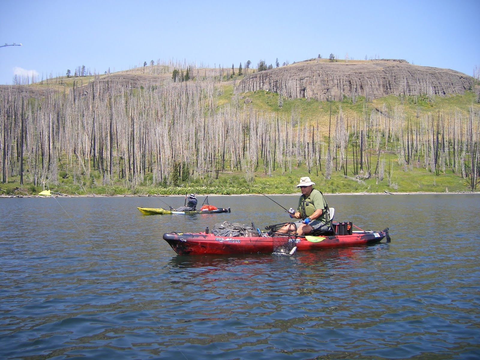 Headwaters fishing team headwaters kayak 2015 for Fishing in yellowstone