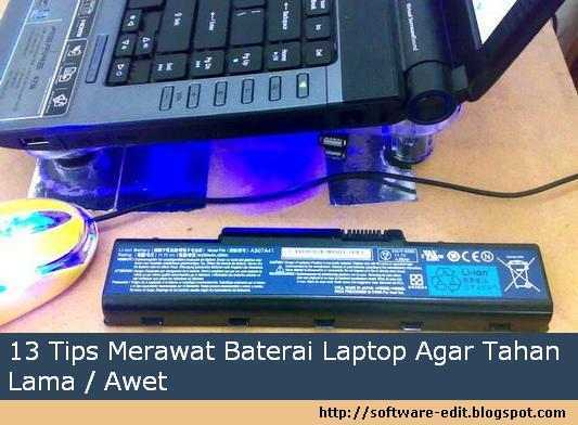 13 Tips Merawat Baterai Laptop Agar Tahan Lama / Awet