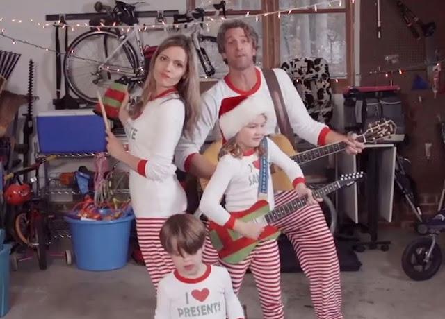 holderness family christmas jammies 2015