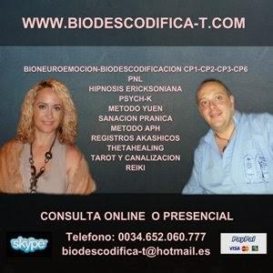 Luis Palacios y Yolanda S. Jimenez , miembros de BIODESCODIFICA-T