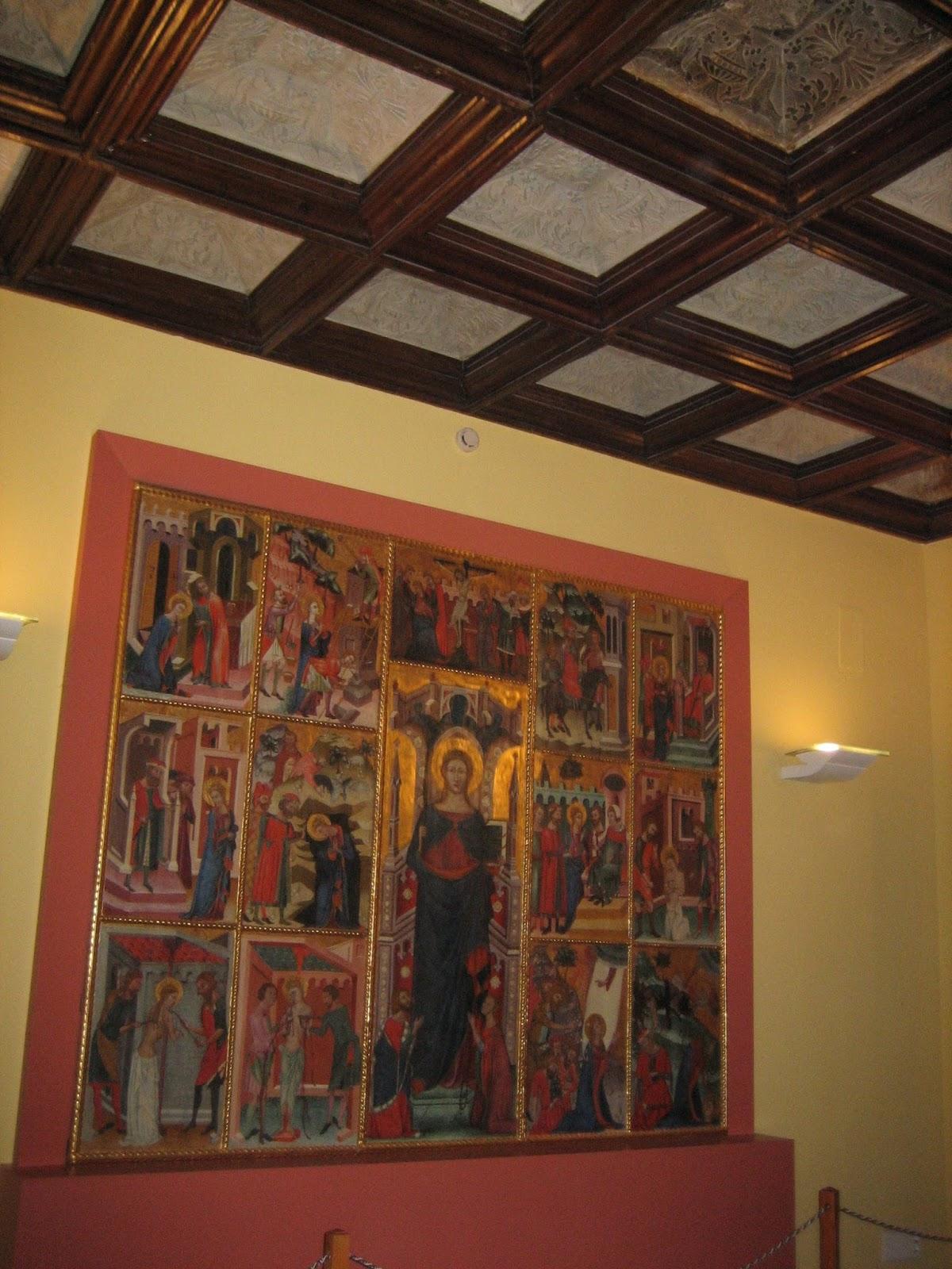 Palau Comtal - retablo