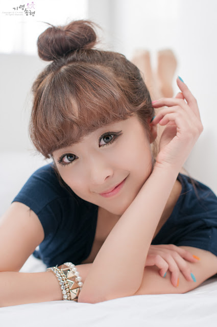 "4 Minah ""Am I Cute""-very cute asian girl-girlcute4u.blogspot.com"