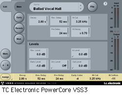 TC Electronic PowerCore VSS3 Stereo Source Reverb