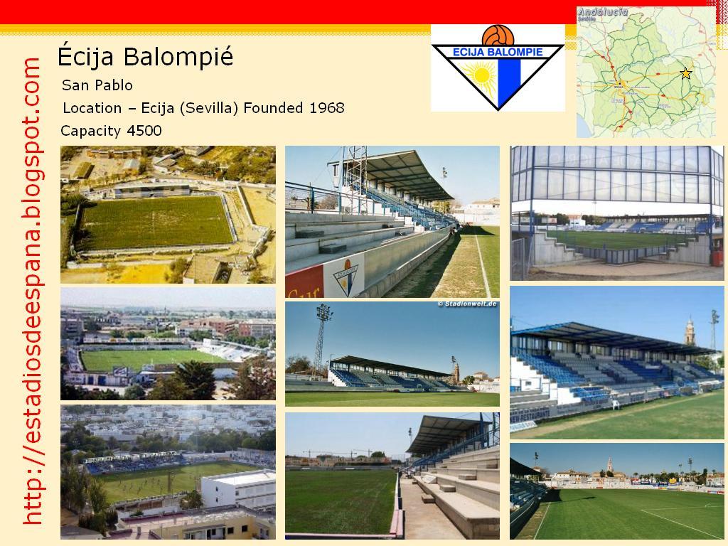 Estadios de f tbol en espa a cija estadio san pablo - Apartamentos san pablo ecija ...