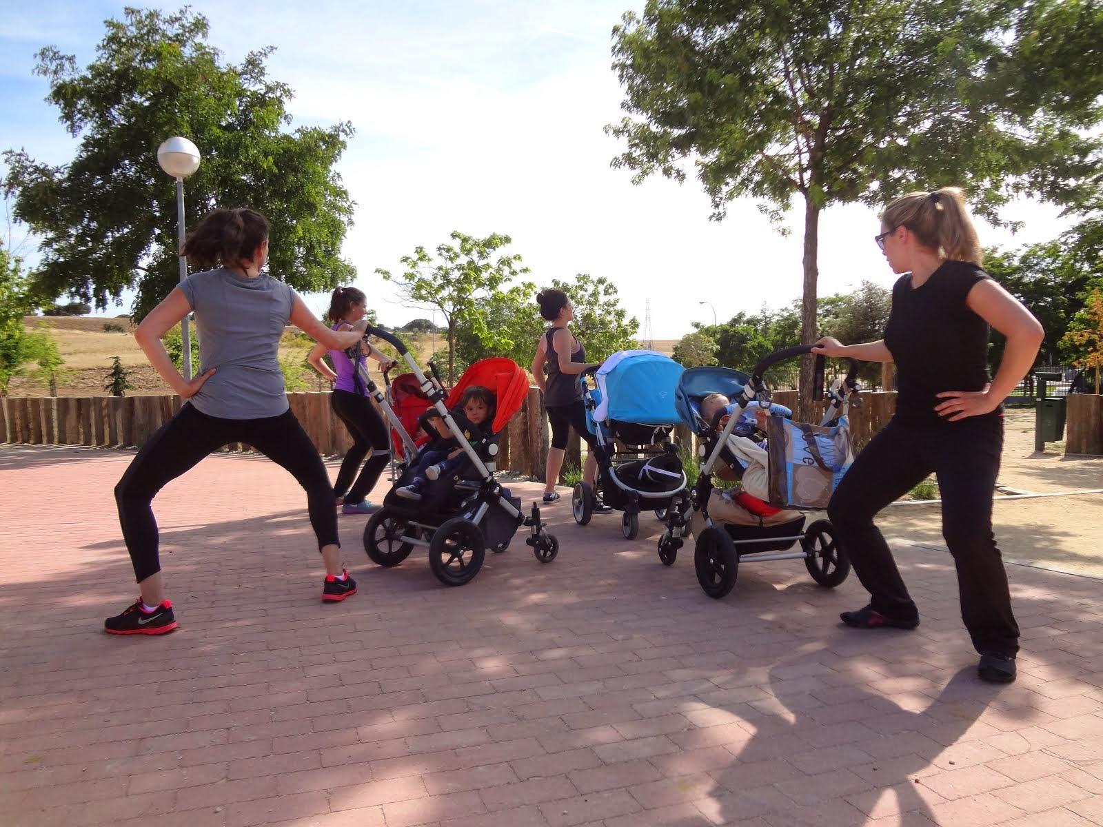 "MamaSport ""Fitness con carrito"" y bebés"