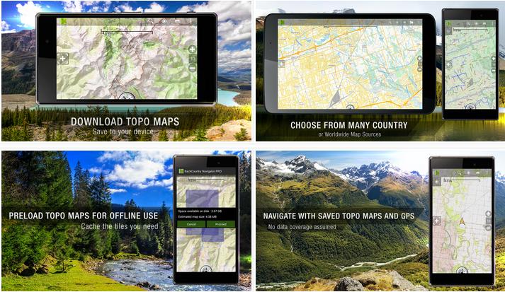 BackCountry Navigator PRO GPS