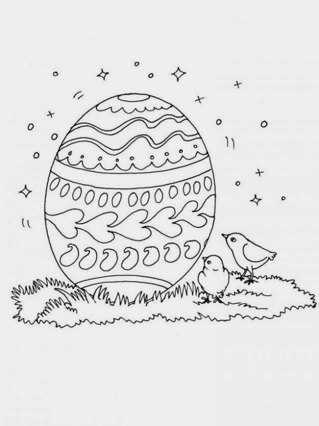Huevos de Pascua para Colorear, parte 2