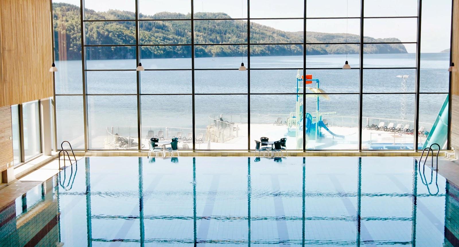 Overnatter du på Rosfjord Strandhotell får du inngang til Sørlandsbadet inkludert i prisen.
