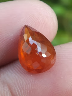 natural spessartine Garnet